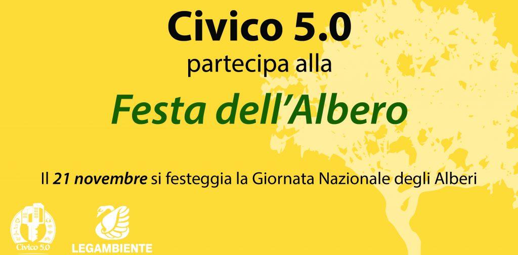 Civico 5.0 partecipa alla Festa dell'Albero
